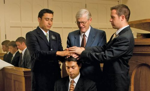 priesthood ordinance