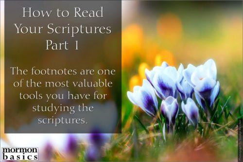 read your scriptures