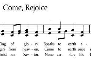 come rejoice