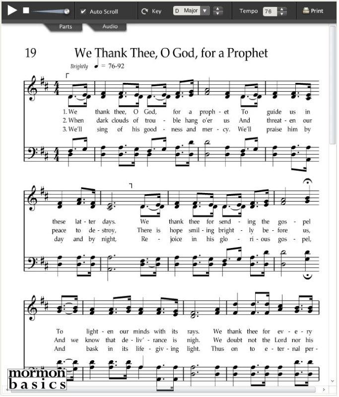 Hymns Explained 019 We Thank Thee O God For A Prophet Gospelstudyus