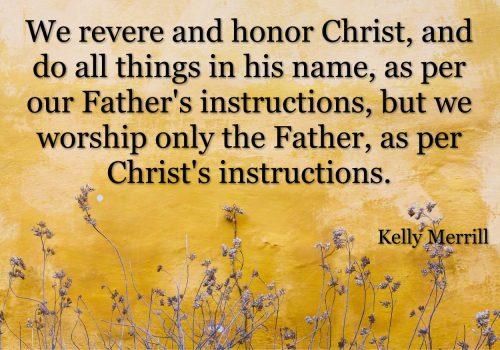 God and Christ