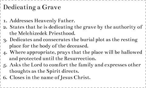 Dedicate a Grave