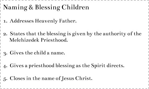 Name Blessing Child
