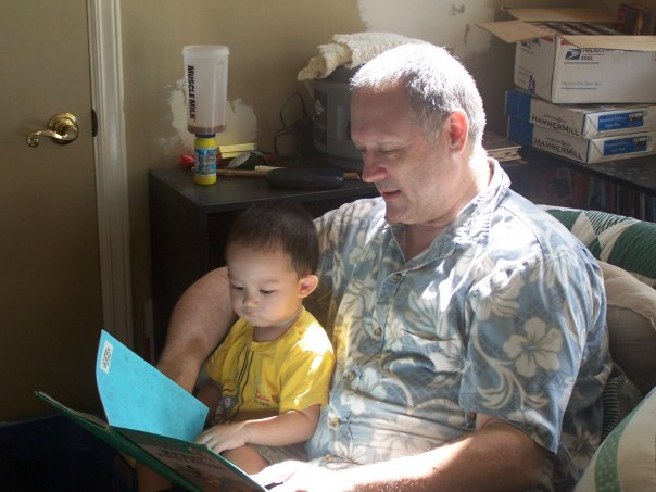 Reading to PJ