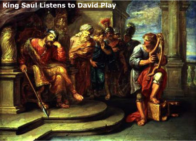 Saul Listens to David