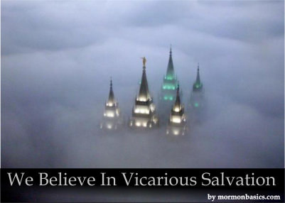 We Believe In Vicarious Salvation