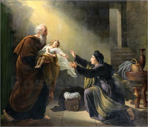 The widow Zarephath
